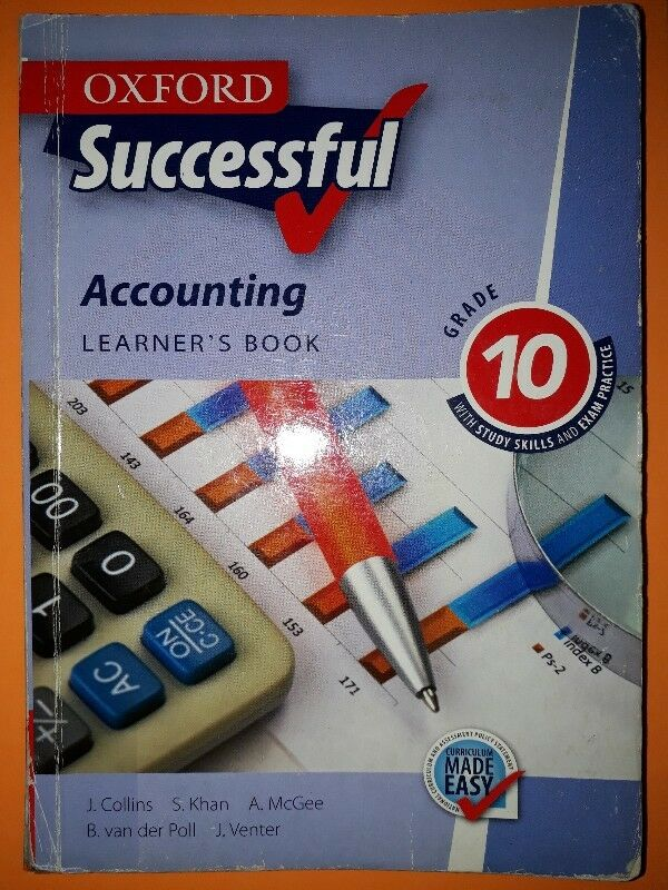 Accounting - Learner's Book - Grade 10 - Oxford Successful - J. Collins.