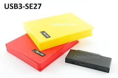 "USB 3.0 to 2.5"" (Laptop Size) SATA Hard Drive Adapter w/ Two HDD Storage Cases"