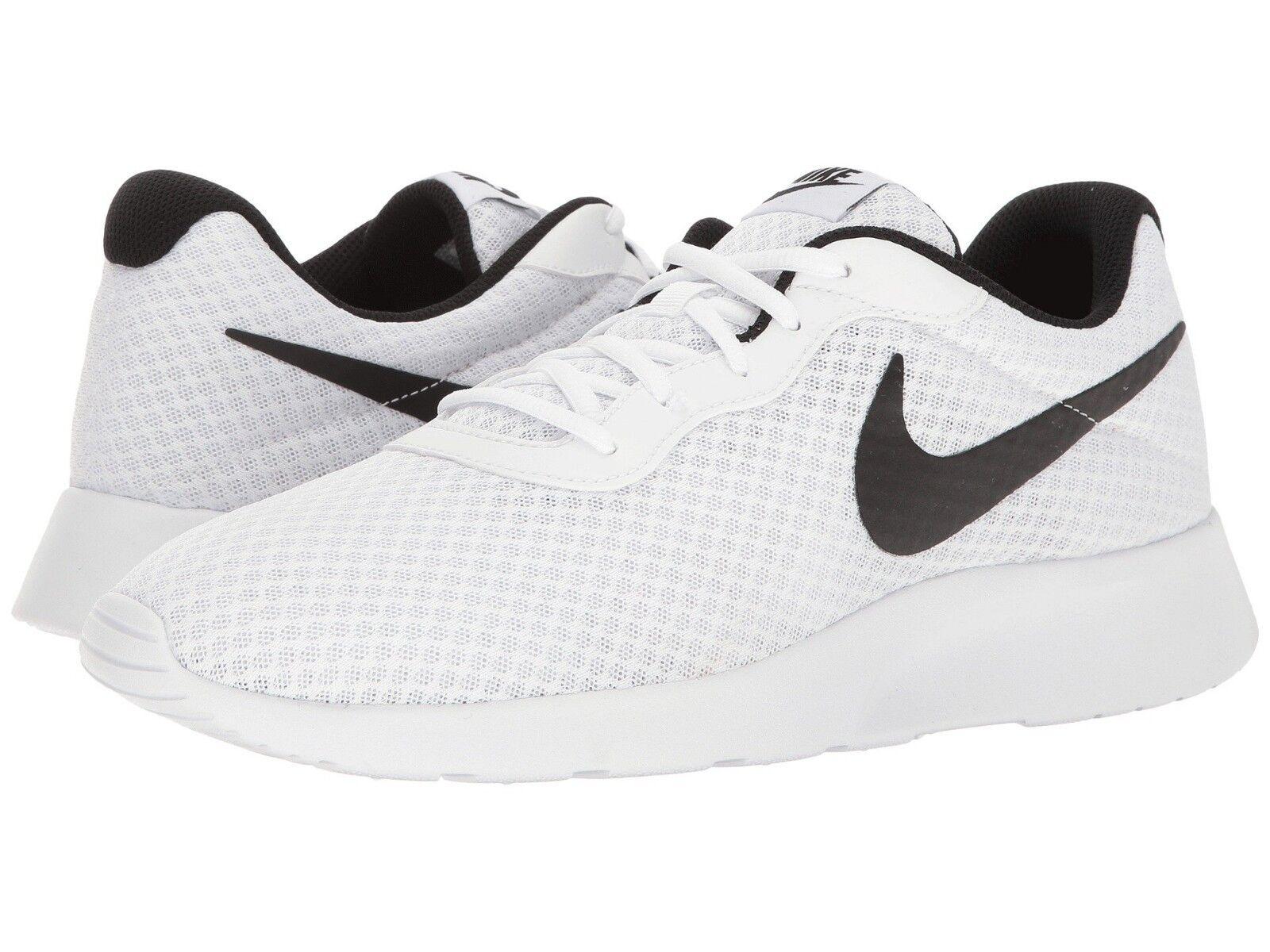 Nike TANJUN Mens White Black 812654-101 Lace Up Casual shoes