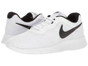 Image is loading Nike-TANJUN-Mens-White-Black-812654-101-Lace- 64e9a078ef1
