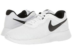 new photos a8641 c4832 Image is loading Nike-TANJUN-Mens-White-Black-812654-101-Lace-