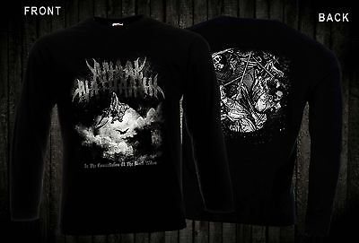 ANAAL NATHRAKH-British extreme metal band,T-shirt long sleeve-sizes:S to XXL