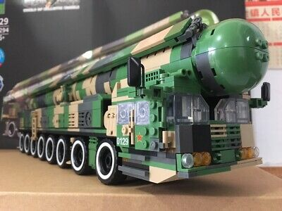 Chinese Army Dong-Feng 17 DF-17 ballistic nuclear missile moc China rocket block