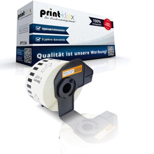 Endlos kompatible Etiketten Rolle für Brother P Touch QL 720 NW DK-22223 Office