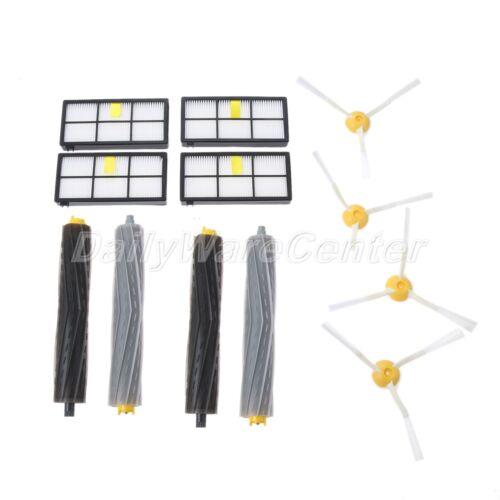 Vacuum Filter Brush Set Parts For iRobot Roomba 800 900 805 860 866 870 871 880