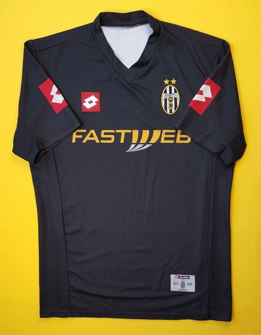 aa6b7783d 4.5 5 Juventus jersey medium 2001 2002 away shirt soccer soccer soccer  football Lotto ig93 0028ab