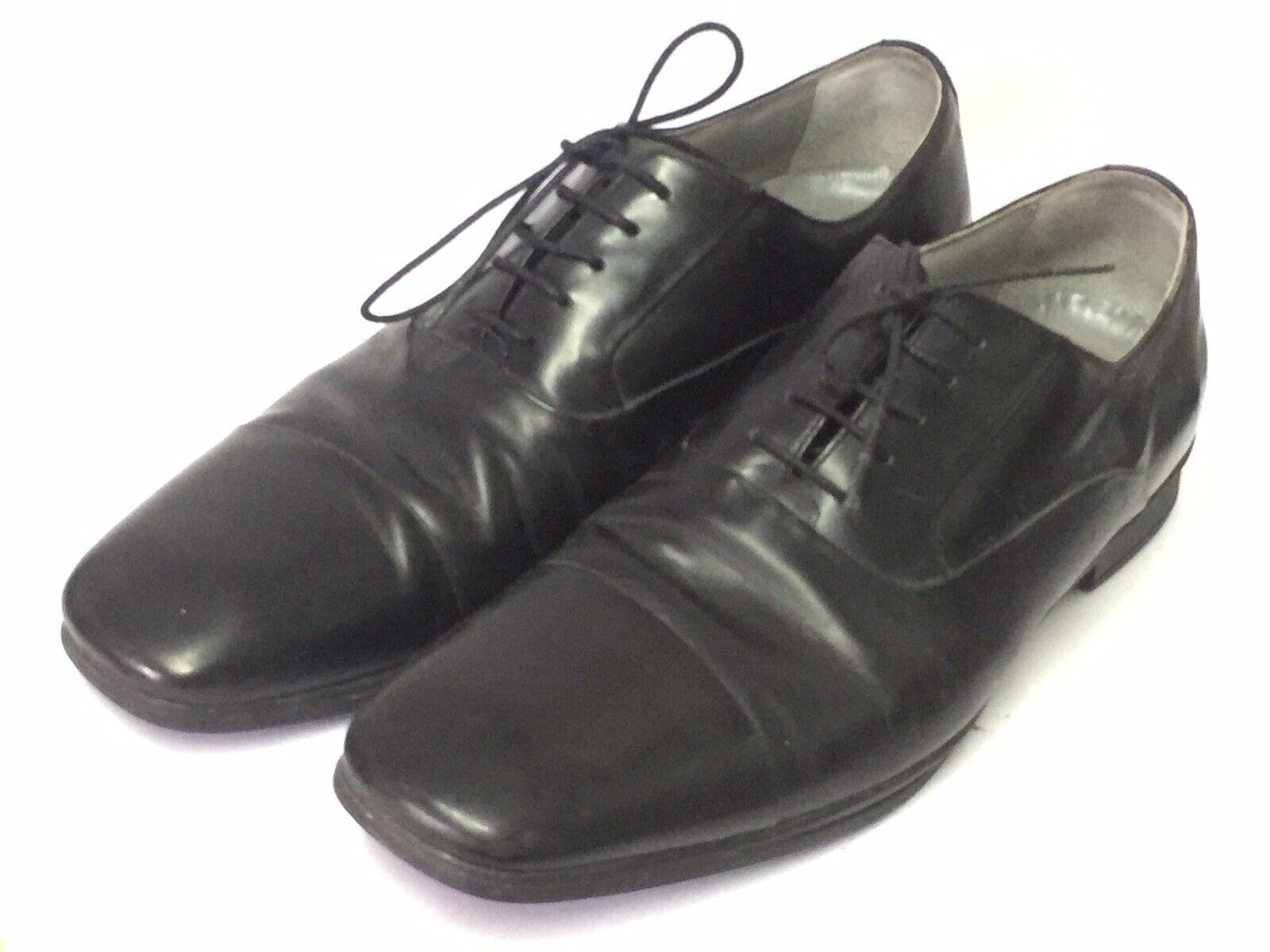 Kenneth Cole Black Men's Dress shoes Leather Oxfords Size 11M US   44.5 EU