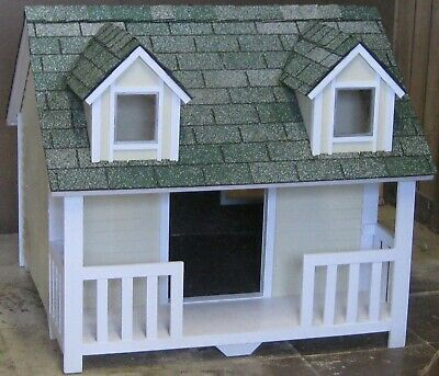 Medium With Porch Dormers Paneling