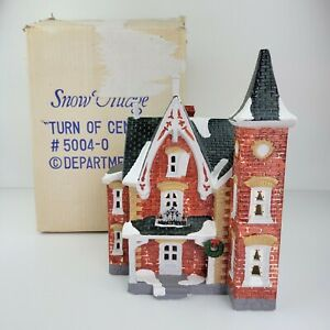 Vintage Dept 56 Turn of the Century Snow Village Building House #5004-0