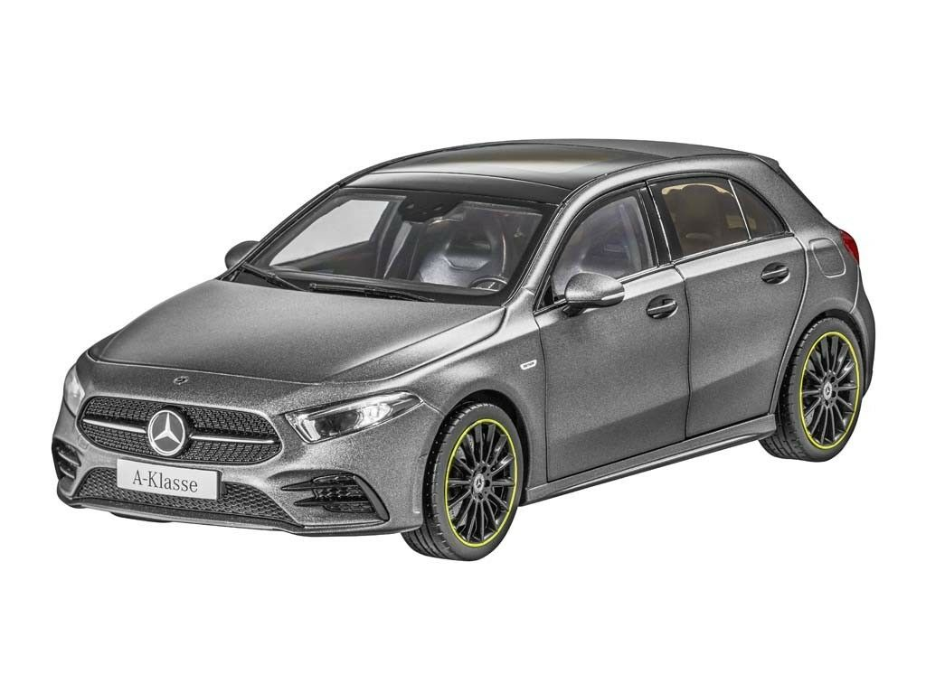 Orig. Mercedes-Benz Modellauto A-Klasse W177 AMG Line designo mountaingrau magno  | Neue Produkte im Jahr 2019