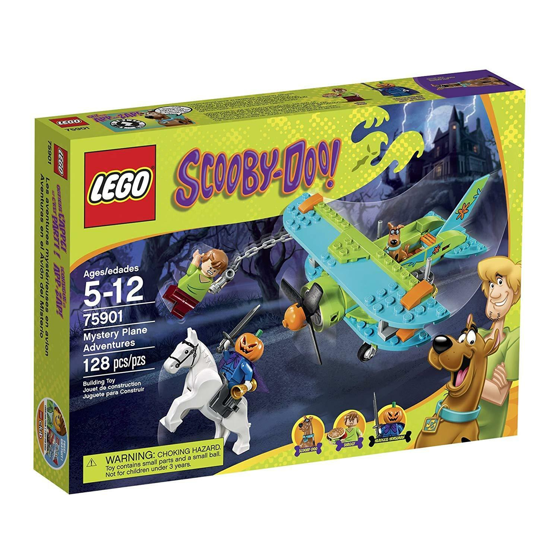 Lego Scooby-Doo 75901 Mystery Plane Adventures Building