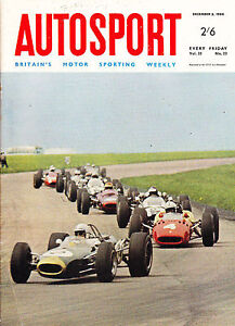 Image Is Loading Autosport December 2nd 1966 RAC Rally Amp Macao