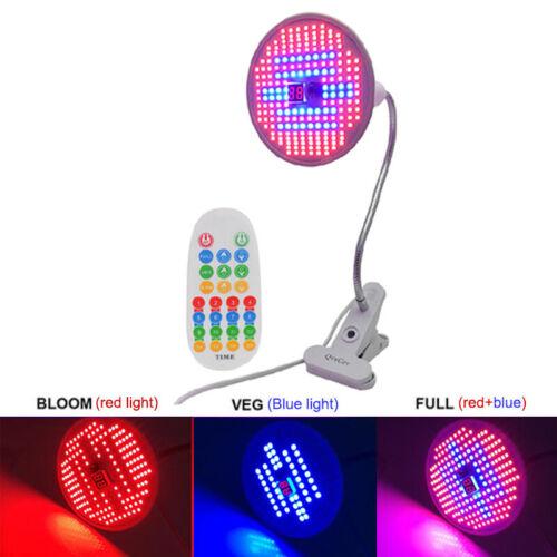 research.unir.net NEW 204 LED timer plant Grow light lamp full ...