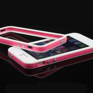 iPhone-5-TPU-Silikon-Schutz-Huelle-Bumper-Cover-Tasche-weiss-pink-rosa