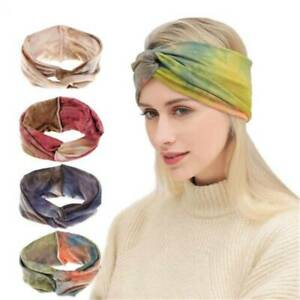 Boho-Women-Cotton-Turban-Twist-Knot-Head-Wrap-Headband-Twisted-Knotted-Hair-Band