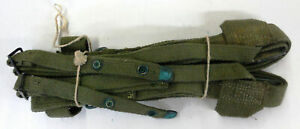 Vietnam-War-Sleeping-Bag-Carrier-Strap-M-1956-Surplus-Genuine-G-I-US-Military