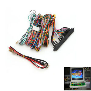arcade jamma board machine wiring harness 60 in 1 harness arcade parts diy kit ebay