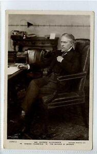 Gi377-376-Real-Photo-of-Theatre-Star-George-Alexander-1910-VG-Rotary-2393-A