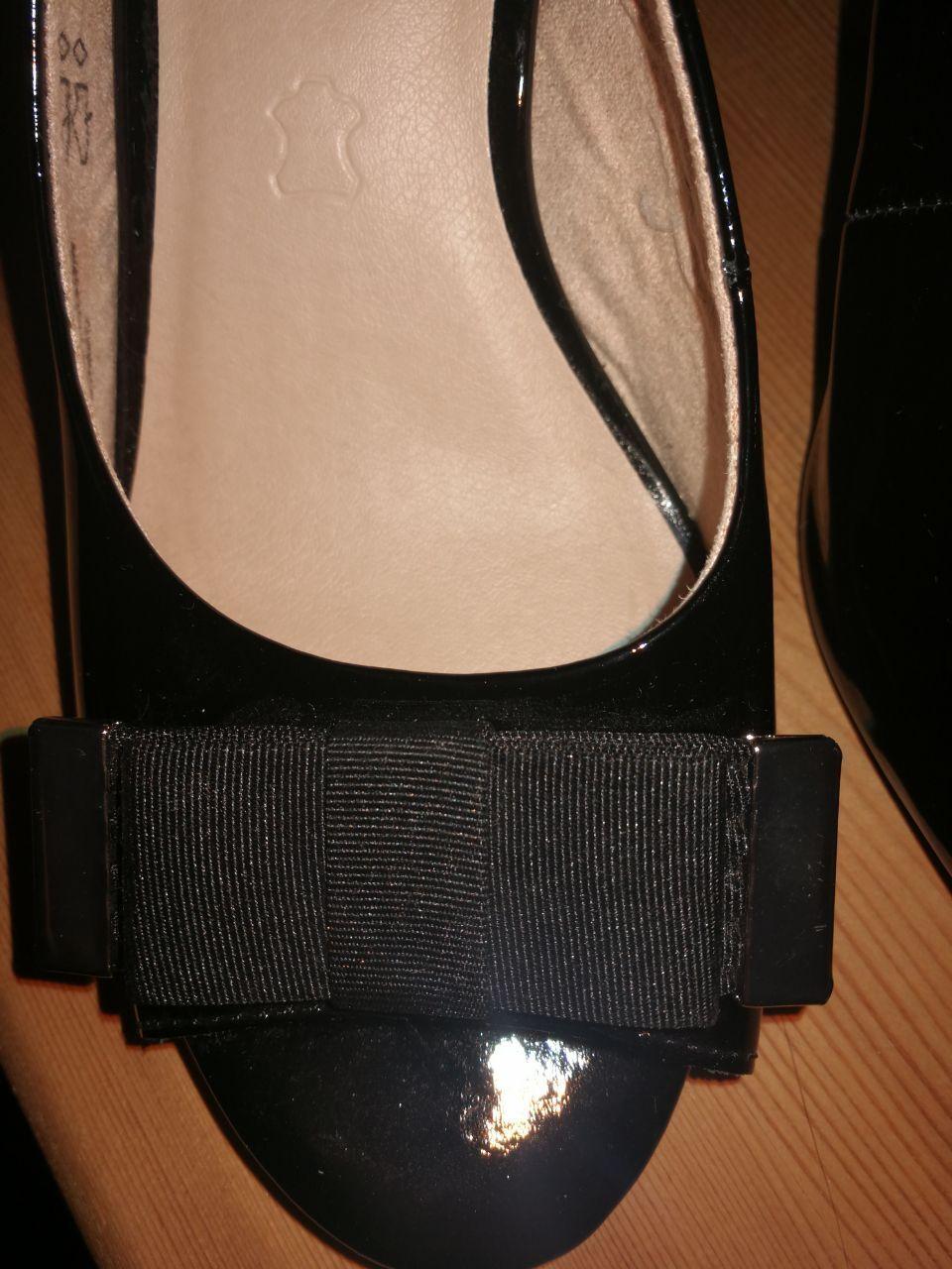 Caprice Sandalen - Damen Schuhe - Schwarz Lackleder Gr.37,5 NEU