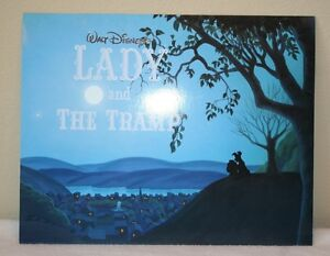 Disney Lady And The Tramp Lithographs Portfolio Of 4 Pictures Ebay