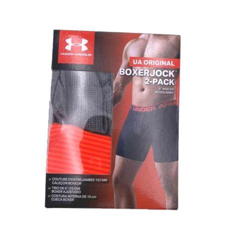 Under Armour Men/'s 2-pack Original Series 6 in Boxerjock Boxer Briefs Underwears
