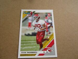 2019 PANINI Donruss NFL ROOKIE CARD JUAN THORNHILL CHIEFS #280