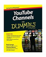 Youtube Channels For Dummies Free Shipping
