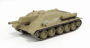 Carri-Armati-Russi-1-72-Tank-SU-122-WWII-Soviet-Diecast-Fabbri-Eaglemoss