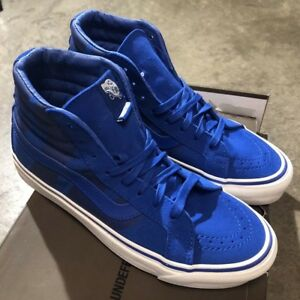 994d255b5f Image is loading Vans-Sk8-Hi-LX-Undefeated-Nautical-Blue-Sz-