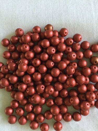 Free Tutorials RounDuo 5mm Twin Hole Beads 4 grams Lava Red Approx 25