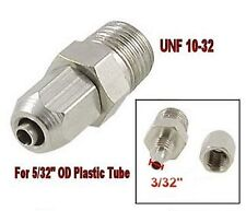 """Pneumatic Gas Air Hose Quick Connector Fitting UNF 10-32 for 5/32"""" OD Tube  L-3_"""