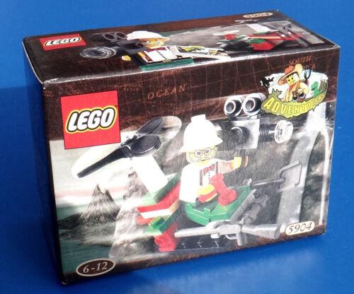 LEGO Adventurers Sets Dino Island 5904 Adventurers Mini Copter NISB Sealed