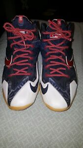 0f47500f01ce Image is loading LeBron-11-XI-Independence-Day-616175-164-SZ-