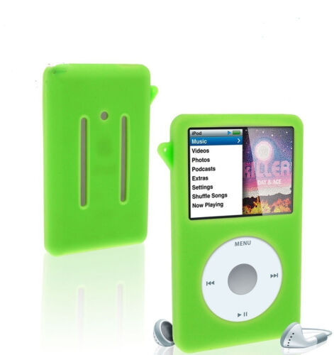 Silicone Skin Case Cover for ipod video 30gb ipod Classic 80gb//120gb// 3rd 160gb
