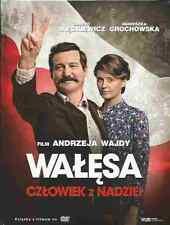 WALESA, CZLOWIEK Z NADZIEI, A. WAJDA,  Polish DVD, Polski film, New and Sealed