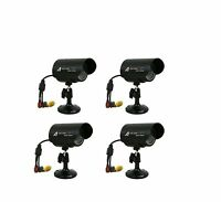 4/pics Wired Surveillance Cameras with Night Vision.  Warranty 60/Days.