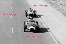 Stirling Moss Vanwall Morocco Grand Prix 1958 Photograph 1