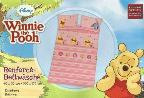 Herding Renforce Bettwäsche Winnie the Pooh 100x135 cm NEU+B-Ware 2263
