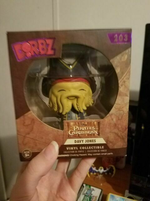 Vinyl Figure by Pirates of the Caribbean Pirates of the Caribbean Davy Jones Pop