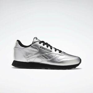 Reebok Silver Metallic Black