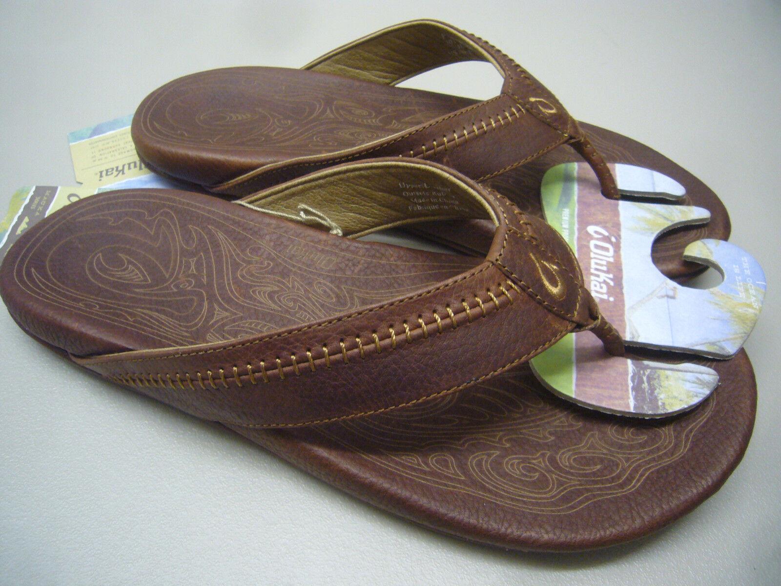 Sandali e scarpe per il mare da uomo OLUKAI uomoS SANDALS HIAPO TEAK SIZE 8