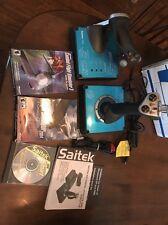 Saitek X45 Digital Joystick And Throttle, Microsoft Combat Flight Simulator 3 ++