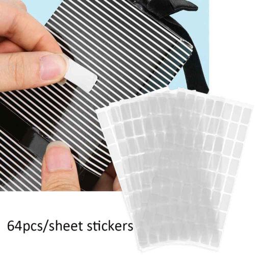 640pcs Diamond Paint Storage Stickers Blank Tags Distinguish Package Label