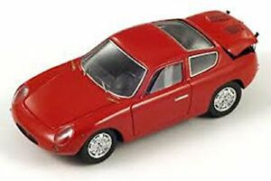 Abarth 1000 Bialbero Gt 1961 Rouge 1:43 Modèle S1301 Spark