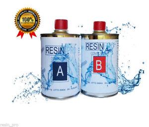 RESINA-EPOSSIDICA-LIQUIDISSIMA-TRASPARENTE-PER-CREAZIONI-GR-800-RESIN-PRO