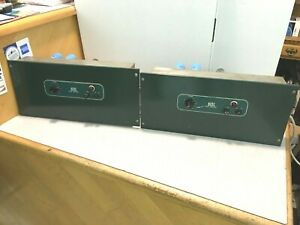 Closely-matched-pair-of-Vintage-Altec-1568a-Amplifiers