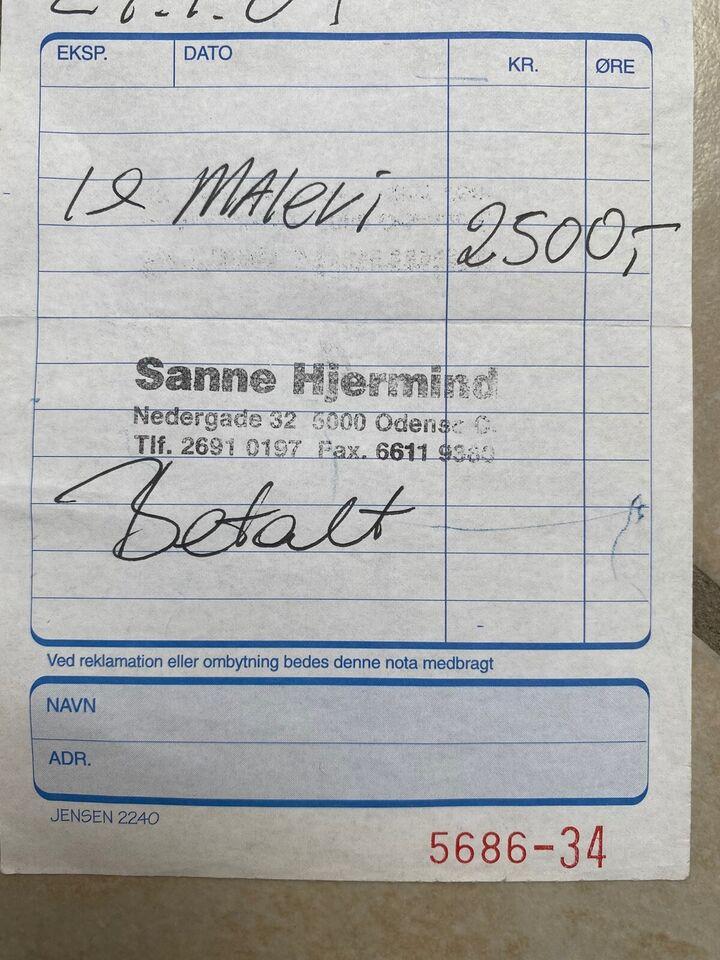 Oliemaleri, Sanne Hjermind, motiv: Andet