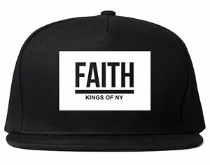 7e53848dad9 Image is loading Kings-Of-NY-Faith-Dark-Streetwear-Style-Snapback-