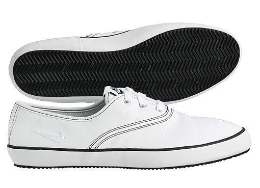 NIKE Deuce Deuce Deuce leather cuir flash capri gr:38, 5 d'été Sneaker White Blanc Flyclave 06afd4