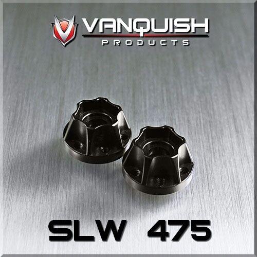 2 Vanquish Products SLW .475 Wheel Hub Black VPS07113